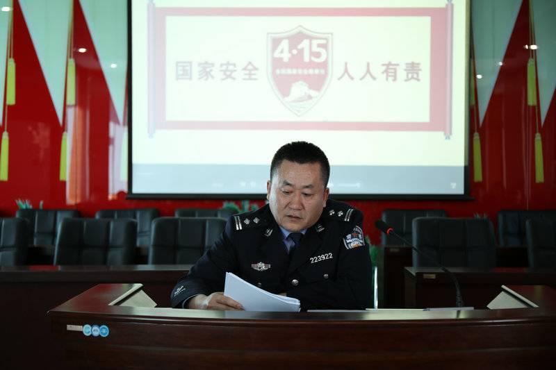 森林公安局相关负责同志进行国家安全相关法律知识授课.JPG